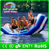 Best Inflatable floating water seesaw pool seesaw for toddlers inflatable floating water game wholesale