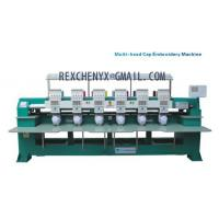Best Six heads T-shirt cap embroidery machine/Multi-head Cap/Garment Embroidery Machine wholesale