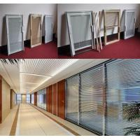 China Insulated glass with built-in shutters of 4-19mm thickness is suitable for doors and windows on sale
