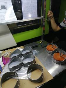 China Vending machine singel and Multi Cavity , Green Cog Wheel POM Material on sale