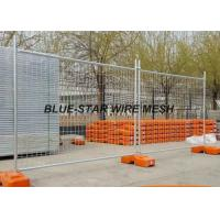 Best Hot Dipped Galvanized Welded Wire Fence Panels , Temporary Wire Mesh Fence Panels wholesale