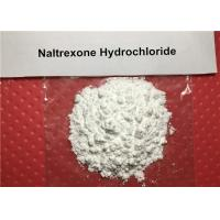Buy cheap 99% Long-acting Narcotic Antagonist Drug Raw Powder Naltrexone Hydrochloride CAS from wholesalers