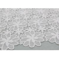 Buy cheap Floral Poly Dying Lace Fabric Guipure French Venice Lace African Lace Dress Fabric from wholesalers