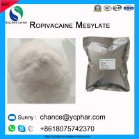 Best Amide Local Anesthetic API Ropivacaine Mesylate Powder For Relieve Pain CAS 854056-07-8 wholesale