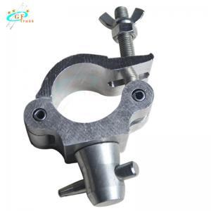 Best Single Silver Black Aluminum Truss Clamp For 48mm To 52mm Round Pipe wholesale