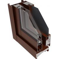 China Industrial T3-T8 Powder Coated Aluminum Profile For Casement Window Door on sale