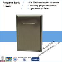 Best 15 Inch Premium Grills Propane Tank or Trash roll out for a bbq wholesale