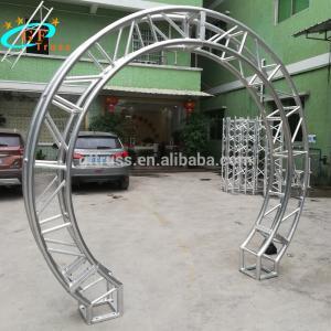 China 2m Aluminum Circular Spigot Truss For Exhibition Show on sale