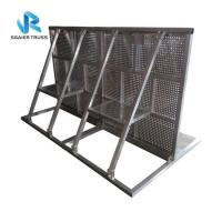 China Metal Parking Space Barrier , High Security Temporary Portable Crowd Barriers on sale
