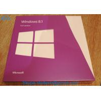 Best All Languages Windows 8.1 Professional OEM Key Upgrade Download Retail Full Version 32 / 64 Bit wholesale