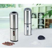 Cheap Electric salt or pepper mill with light for sale