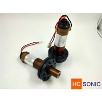Best 20khz 3000w Ultrasonic Welding Transducer For Lace Sewing , High Performance wholesale