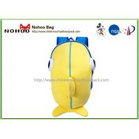 Buy cheap Yellow Soft Neoprene Kids Book Bags For School / Cute Youth Backpacks from wholesalers