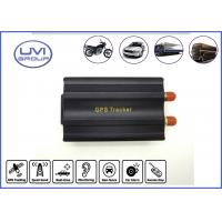 China VT103A GSM / GPRS Wireless Internet 850 / 900 / 1800 /1900Mhz Car Real Time GPS Tracking Device on sale