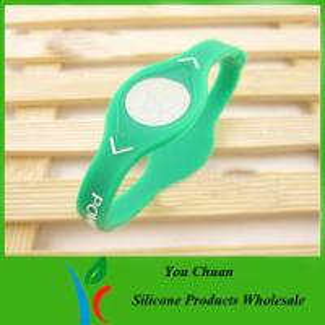 Best Customize Fashion Silicone power balance bracelet for health care wholesale