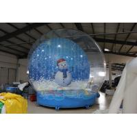 Best 5M Giant Inflatable Snow Globe wholesale