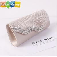 Best Hand Ladies Bridal Evening Bag , wedding clutch bags Outside wholesale