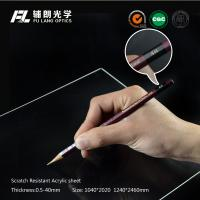 Best Clear plastic sheet Scratch Resistant Acrylic Sheet for robot partitions, aluminium profile modular assembly wholesale