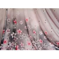Best Funky Curtain Custom Printed Fabrics Floral Apparel Fabric wholesale