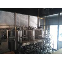 Buy cheap 10HL Electricity Heated Micro Brewing Equipment Brewhouse For Bar Hotel product