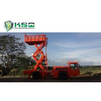 Best Underground Service Vechicles 1 Ton Scissor Lift Truck for Underground Mining or Tunneling Project wholesale
