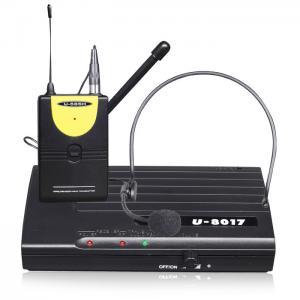Buy cheap UHF Wireless Microphone #U-8017B from wholesalers