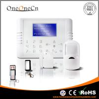 Best Home security dual network GSM+PSTN alarm system with Touch Keypad wholesale