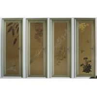 Best White, champagne evironment friendly single, double aluminum hinged doors for bedroom wholesale