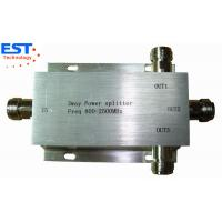 China 3 Way Power Divider/Splitter EST800-2500MHZ With High Power 150W on sale