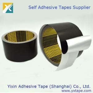 China Black Color Aluminum Foil Tape Thermal Insulation Tape Aluminum Foil Tape Black Color Foil Tape on sale