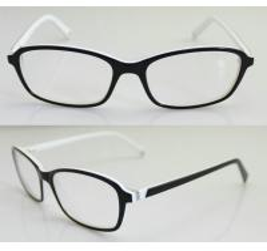 Best Black & White Fashion Eyeglass Frames, Custom Acetate Eyewear Frames For Men wholesale