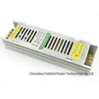 Best Narrow Slim LED Light Power Supply 12v 150w With CE / ROHS Certificate wholesale