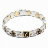 Best Bracelet, Customized Designs Welcome, Available in Various Styles, Made of Stainless Steel wholesale