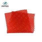 Best Household Floor Red Bath Mat , 60*75cm Non Skid Bathroom Floor Rugs wholesale
