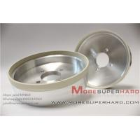 Best 6 inches High cutting action 6A2 vitrified diamond grinding wheel for PCD  -julia@moresuperhard.com wholesale
