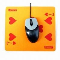 Best Mouse Pad with Silkscreen Printing, Made of EVA and PVC, Suitable for Promotional Purposes wholesale