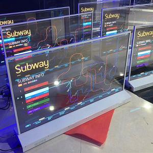 China Dustproof Foldable OLED Display / OLED Computer Display Antiglare Surface on sale