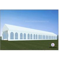 China Customized Size Outdoor Party Tent With Clear Window PVC Sidewalls For Church on sale