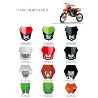 Best Various Colors Led Motorcycle Driving Lights , Led Motorcycle Headlight New ABS Material wholesale