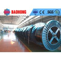 Best Electric Steel Cable Drum , Fiber Wire Rope Reeling Drums Long Working Life wholesale
