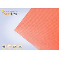 Best High Temperature 550 C Degree Resistant Silicone Coated Fiberglass Fabric For Welding Curtain Welding Blanket wholesale