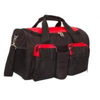 Best Black 600D Polyester Gym Bag With Shoe Compartment OEM / ODM Acceptable wholesale