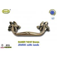 China Antique Brass Finish Metal Coffin Handles Zinc Alloy coffin handle H018 antique bronze size 20*7.5cm on sale