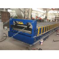 Best Automatic Corrugated Sheet Forming Machine High Load Capacity 75mm Shaft Diameter wholesale