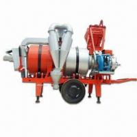 China Mobile Asphalt Drum Mixing Plant with Rated Productivity of 8tph on sale
