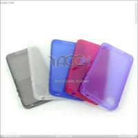 Best Smooth Transparent TPU Case for iPhone 4/4s (P-IPHN4STPU004) wholesale