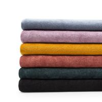 China High Quality Knit 100% Cotton Microfiber Towel Fabric For Bath Per Meter on sale