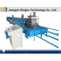 China Full Automatic Steel Gutter Roll Forming Machine with CE / ISO Certificate on sale