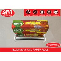 Best Recyclable Catering Aluminium Foil Roll 30cm X 15 Micron X100m Food Wrapping wholesale