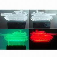 Best CNC Engraved 3D Acrylic Display with LED wholesale